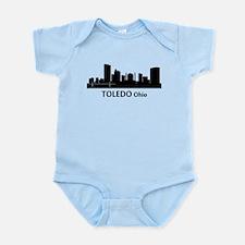 Toledo Cityscape Skyline Body Suit