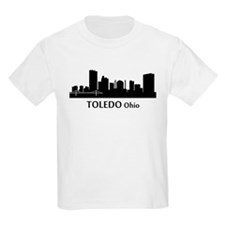 Toledo Cityscape Skyline T-Shirt
