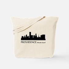 Providence Cityscape Skyline Tote Bag