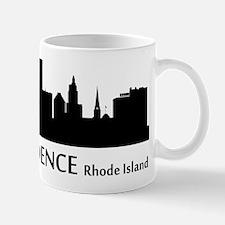 Providence Cityscape Skyline Mugs