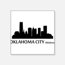 Oklahoma City Cityscape Skyline Sticker