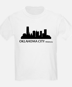 Oklahoma City Cityscape Skyline T-Shirt
