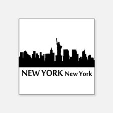 New York Cityscape Skyline Sticker