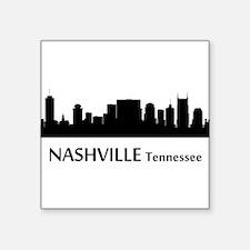 Nashville Cityscape Skyline Sticker