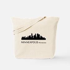 Minneapolis Cityscape Skyline Tote Bag