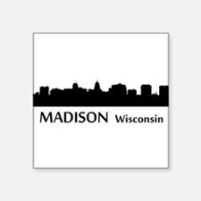 Madison Cityscape Skyline Sticker