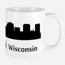 Madison Cityscape Skyline Mugs