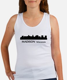 Madison Cityscape Skyline Tank Top