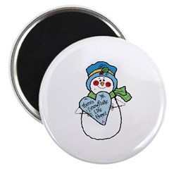 No Snowflake Like Home Snowman 2.25