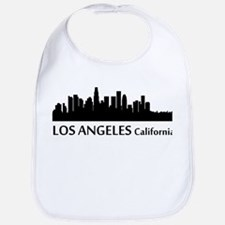 Los Angeles Cityscape Skyline Bib