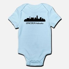 Lincoln Cityscape Skyline Body Suit
