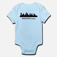Houston Cityscape Skyline Body Suit