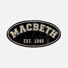 Retro Macbeth Patch