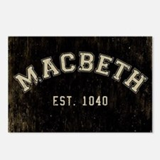 Retro Macbeth Postcards (Package of 8)