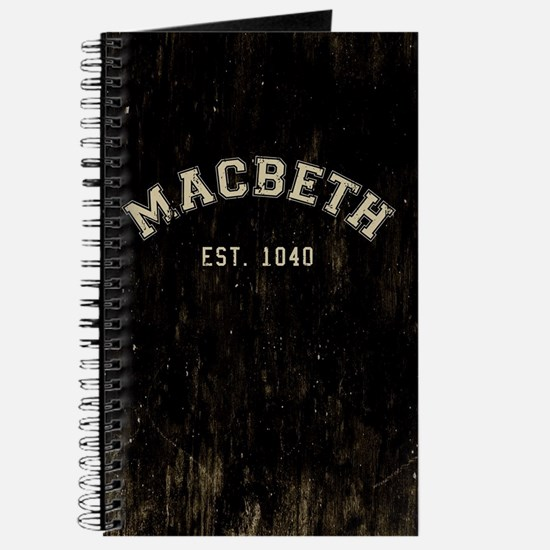 Retro Macbeth Journal