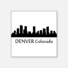 Denver Cityscape Skyline Sticker