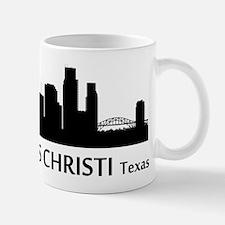 Corpus Christi Cityscape Skyline Mugs
