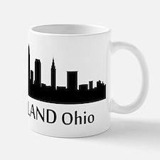 Cleveland Cityscape Skyline Mugs
