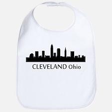 Cleveland Cityscape Skyline Bib