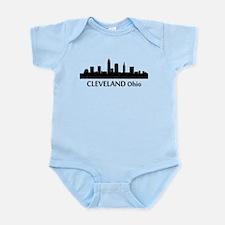 Cleveland Cityscape Skyline Body Suit