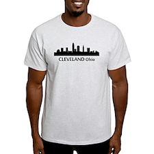 Cleveland Cityscape Skyline T-Shirt