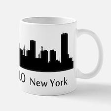 Buffalo Cityscape Skyline Mugs