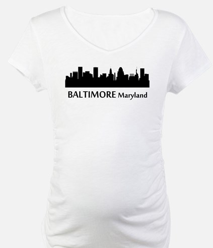 Baltimore Cityscape Skyline Shirt