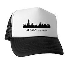 Albany Cityscape Skyline Trucker Hat