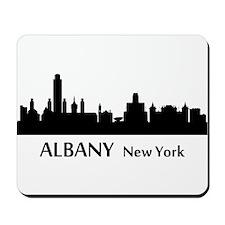 Albany Cityscape Skyline Mousepad