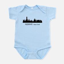 Albany Cityscape Skyline Body Suit