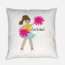 Love To Cheer! Everyday Pillow