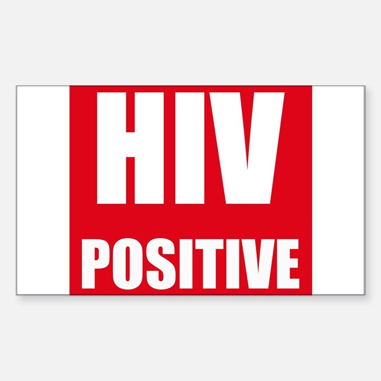 HIV Positive Decal