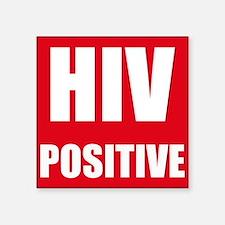 HIV Positive Sticker