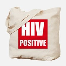 HIV Positive Tote Bag
