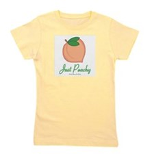 Cute Fruit peach Girl's Tee