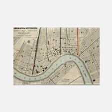 Cute New orleans louisiana Rectangle Magnet