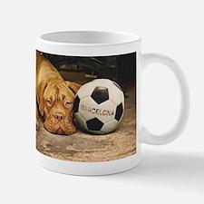 My dog loves Barcelona Mugs