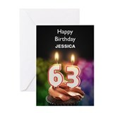 63rd birthday Greeting Cards