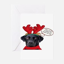 Cute Funny dog picture Greeting Cards (Pk of 20)