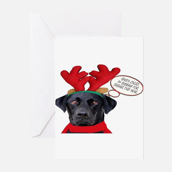 Personalized dog christmas Greeting Cards (Pk of 20)