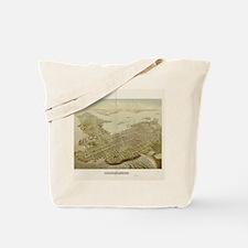 Cute Vintage newport ri Tote Bag