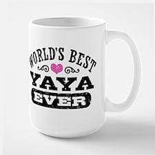 World's Best Yaya Ever Ceramic Mugs