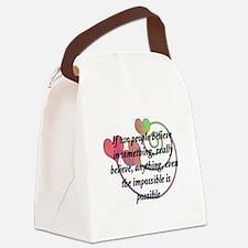 Castle TV Canvas Lunch Bag