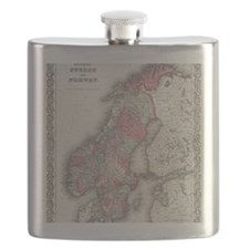 Cute Vintage sweden Flask