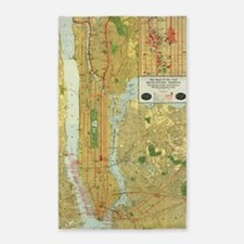 Cute Times square new york city Area Rug