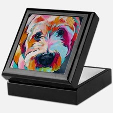 Cute Dogs Keepsake Box