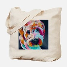 Cute Wheaten terrier Tote Bag