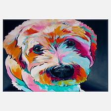 Unique Wheaten terrier Wall Art