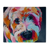 Goldendoodle Fleece Blankets