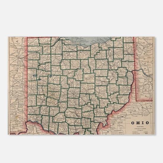 Unique Ohio Postcards (Package of 8)